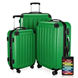 Hauptstadtkoffer - Spree - 3er-Koffer-Set Trolley-Set Rollkoffer Reisekoffer-Set Erweiterbar, TSA, 4...