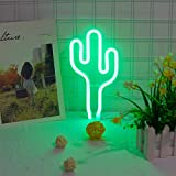 LED-grüner Kaktus LED Neon Sign Neon Light Batterie oder USB Powered...