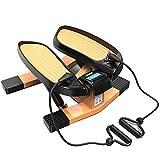 LJYLF Mini-Fitnessgerät Inkl Up-Down-Stepper, Drehstepper & Sidestepper, Fitnesstraining für...