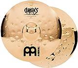 Meinl Cymbals CC14EMH-B Classics Custom Extreme Metal Serie 35,6 cm (14 Zoll) HiHat Becken Paar...