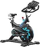 YO-TOKU Indoor Cycling Heimtrainer, Verstellbarer Lenker & Seat, Smart-App Computer liest...