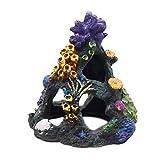 YWXKA Coral Aquarium Dekor, Aquarium Harz Hiding Cave Ornament, ideal für die Betta...