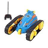 Bck Musik Stunt RC Panzer Eltern-Kind-Charging Elektro Off-Road-Spielzeug,...