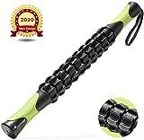 Sportneer Massageroller Muskel Roller Stick, Körpermassage-Stab-Werkzeuge, Rückenmassagegerät...