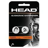 HEAD Unisex– Erwachsene  Djokovic Dampener - Shock Absorption Comfort - Weiß - 2 Stück -...
