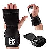 LEGEND Zughilfe-Handgelenksbandage-Grippad-Cobra für Bodybuilding, Fitness, Crossfit,...