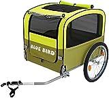 P4B | Fahrradanhänger für Hunde | Faltbar | Große Einstiegsmöglichkeit | Netz mit...