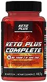 Keto Burn Plus Complete Burner Kapseln für den Fettstoffwechsel, 60 Kapseln
