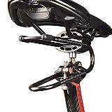 ZZYLHS Fahrrad-Stoßdämpfer Federsattel Absorber Dämpfende Suspension-Geräte Radfahren MTB...