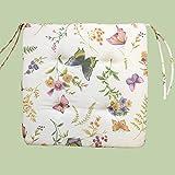 Kamaca Serie Schmetterlinge AUF DER BLUMENWIESE in Creme mit zarten Pastelltönen EIN Schmuckstück...