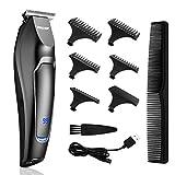 Professionelle Haarschneidemaschine für Männer Kinder Familie Bartrasierer Haarschnitt Kit USB Wiederaufladbar Wasserdicht Haarschneider Kabellos