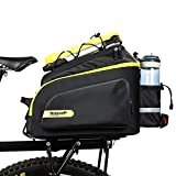 Lixada Fahrradtasche Fahrrad Gepäcktaschen wasserdichte Polyester Gepäckträger Tasche 17L