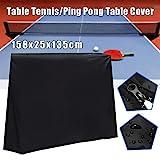 ZHFENG Schwarz Full Size Wasserdichte Tischtennis/Tischtennisplatte Abdeckung Lagerung Deckblatt...