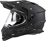 O'NEAL Sierra II Adventure Enduro MX Motorrad Helm Flat schwarz 2020 Oneal: Größe: S (55-56cm)