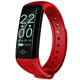 GAOHONGMEI M2Z 0,96 Zoll Smart Watch OLED-Bildschirm Bluetooth Smart Armband IP67 Wasserdichter...