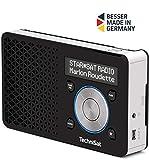 TechniSat DIGITRADIO 1 – tragbares DAB+ Radio mit Akku (DAB, UKW, Lautsprecher,...