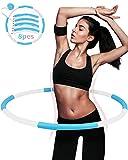 Hula Hoop Reifen Fitness Erwachsene,DUTISON hoopomania hula hoop 8 Knoten abnehmbares design mit...