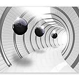 murando - Fototapete 3D Effekt 400x280 cm - Vlies Tapete - Moderne Wanddeko - Design Tapete -...