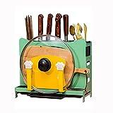 Yousiju Deckel Rack Stand Löffelhalter Herd Organizer Home Lagerung Suppe Löffel Modellierständer ruht Küchengeräte (Color : Green)