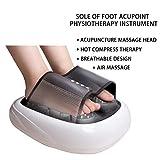 Dr.Lefran Shiatsu Fußmassage Maschine, Heat Electric Deep Kneten Halb gewickelt Fußmassage,...