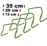 BAY® 4er Set Hürden ' VERSTELLBAR ' 35 cm und 12 / 20 cm Trainingsprodukt Speed Hurdles -...