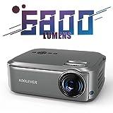 Beamer 6800 Lumen, Native 1080p Beamer Full HD, Beamer Heimkino LED 78000 Stunden Heimkino und...