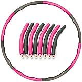 TecWenow Hula-Reifen für Erwachsene, abnehmbar, Mehrfachmontage, professioneller Hula-Reifen bringt...
