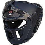 AQF Kopfschutz für Boxen, MMA, Training Kopfbedeckung, Muay Thai, Abnehmbarer Grillschutz,...