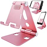 scozzi Handy Ständer verstellbar faltbar Tisch Halterung Stativ Alu Halter universal (kompatibel...