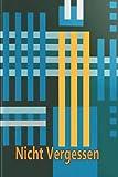 Nicht Vergessen: Passwort Buch mit Index zur Verwaltung von Passwörtern, Anmeldedaten - Backup und Passwortverwaltung. Passwort-Journal, Buch mit A-Z-Diagramm. Diskrete Größe (6' x 9'). 110 Seiten.