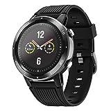 Letsfit Smartwatch mit Pulsoximetrie Messgerät und Pulsmesser GPS Sportuhr, Fitness Armbanduhr 46mm...