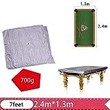 Centeraly Billardtischabdeckung, staubdichte Billardtischabdeckung mit Kordelzug für Snooker-Tisch