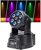 Ceiling Pendant Table Lamp Lampe Bühnenbeleuchtung, 7 * 10W RGBW LED Auto/Sprachsteuerung DMX512...