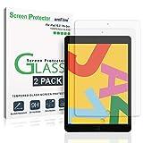 amFilm Panzerglas Displayschutzfolie für iPad 10.2 (2 Stück), Panzerglas (Gehärtetem Glas)...