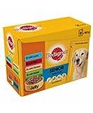 Pedigree Tasche Jelly Senior Hundefutter 100g, 4x 12Stück