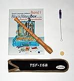 Tuyama® TFS-16B Blockflöte PLUS BLOCKFLÖTENBOX Band 1 mit 2 CDs ISBN: 9990000484201 von Daniel Hellbach