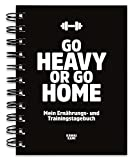 Trainingstagebuch & Ernährungstagebuch für Krafttraining, Fitness-Studio, Home Workout,...