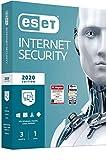 ESET Internet Security 2020 | 3 Geräte | 1 Jahr | Windows (10, 8, 7 und Vista), macOS, Linux und...