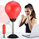 RUNACC Desktop Punching Ball Boxen Punchingball Saugnapf freistehend Reflex Stress Relief Boxing...