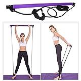 CawBing Yoga Widerstand Zugstange Pilates Stick Lightweight Resistance Band Fitness Elastische...