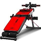 Peaceip Rot verstellbare Sit-up Bank, Ultimative Fitnessgeräte, ergonomisches Design, über 180 °...
