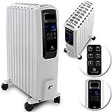 KESSER® 2000W Ölradiator mit digitalem Display Fernbedienung - elektrischer, energiesparender...