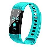 SMLSMGS Sportuhr Smart Watch Sport Fitness Aktivität Herzfrequenz-Tracker Blutdruck Wasserdicht...