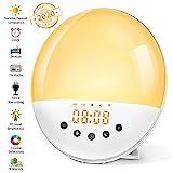Wake Up Licht Lichtwecker mit Aufnahmefunktion Tageslichtwecker mit 30 Helligkeitsstufe/9...