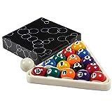 WXS Billard American Standard-Spielball 2 1/4 Zoll (57.2mm) 16 Farbe Billiard Supplies (Size : 1-11...