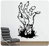 zhuziji Spiegel Wandaufkleber Hroom 3 , Zombie Walking Dead Hand Horror Böse Detaillierte...