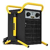 STANLEY Elektrischer Heizlüfter mit Regulierbarem Thermostat und Überhitzungsschutz, zwei...