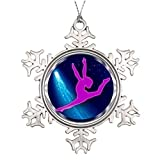 Leoner22art Gymnastik-Ring, personalisierbar, Baum-Dekoration, Halloween, Baumschmuck