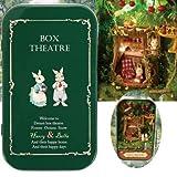 TuToy 3d holz puzzle diy miniatur puppenhaus led licht traum box theater kit weihnachten...