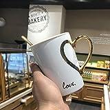 Kaffeetasse Keramik Tasse1 Stück 370Mlcreative Persönlichkeit Trend Kaffeetasse Weibliche Keramik...